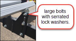 adjustable bunk bracket