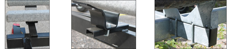 pontoon trailer bunk support brackets