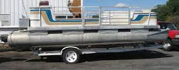 fitting your pontoon boat trailer to your boat