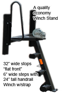 pontoon trailer winch stand